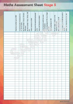 Maths Assessment Sheets New Zealand Math Assessment Classroom Assessment Class Assessment