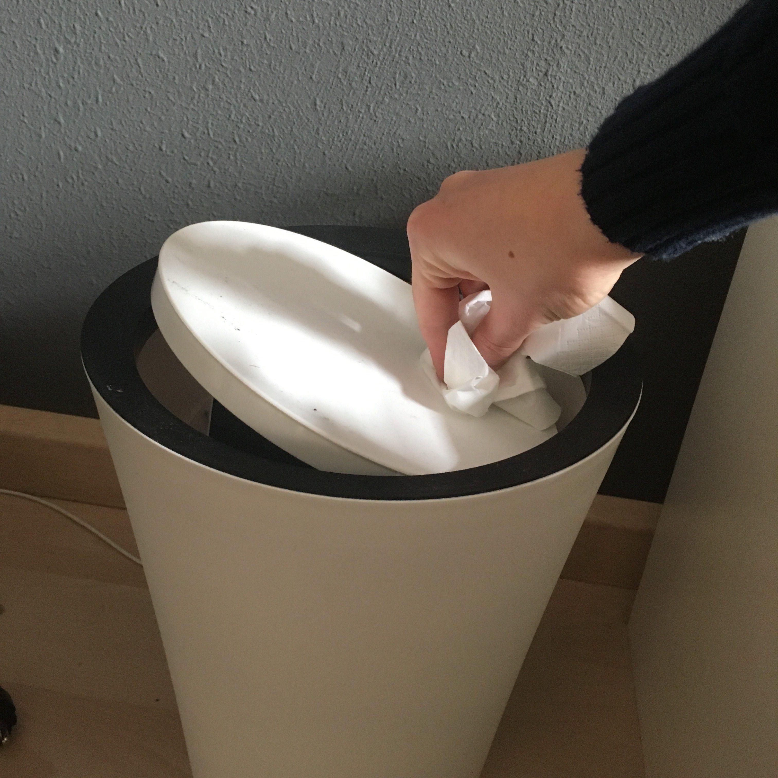 Qualy Flip Bin De Blikvanger Voor Jouw Afval Thuisleven Com Huishouden Gordijnen Oud Papier