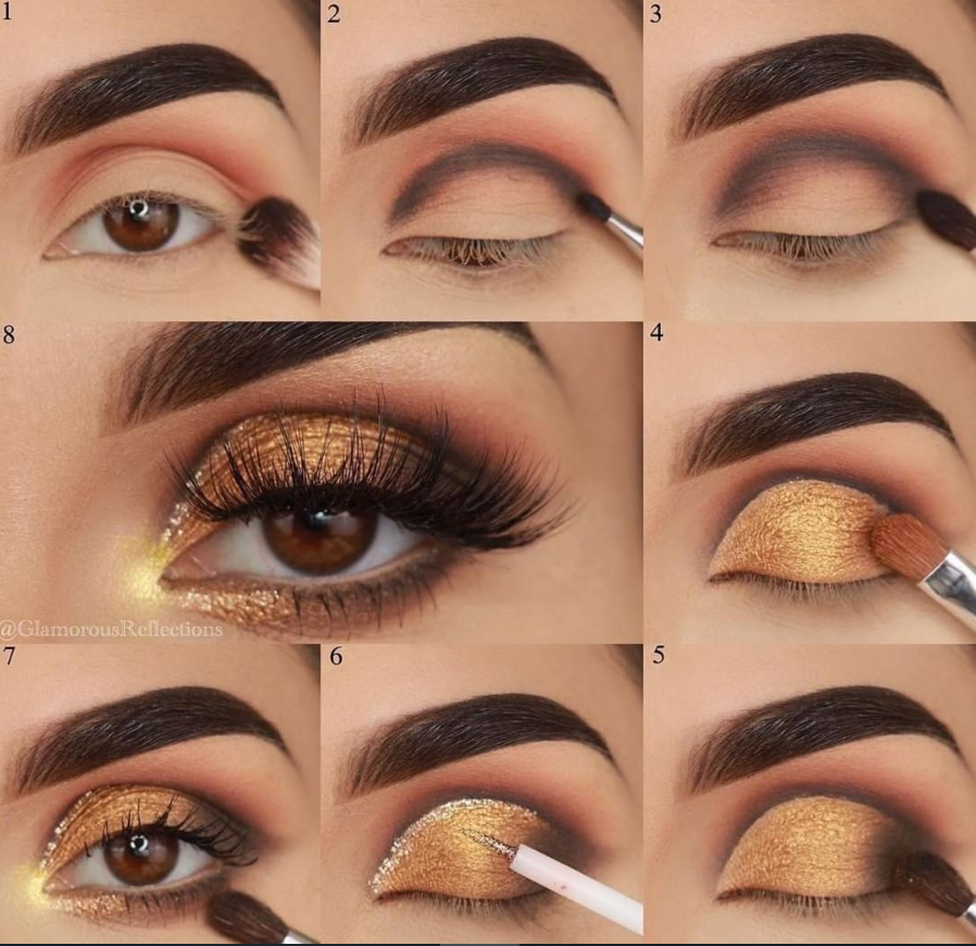 40 Easy Steps Eye Makeup Tutorial For Beginners To Look Great! – Page 12 of 40 – Latest Fashion Trends For Woman