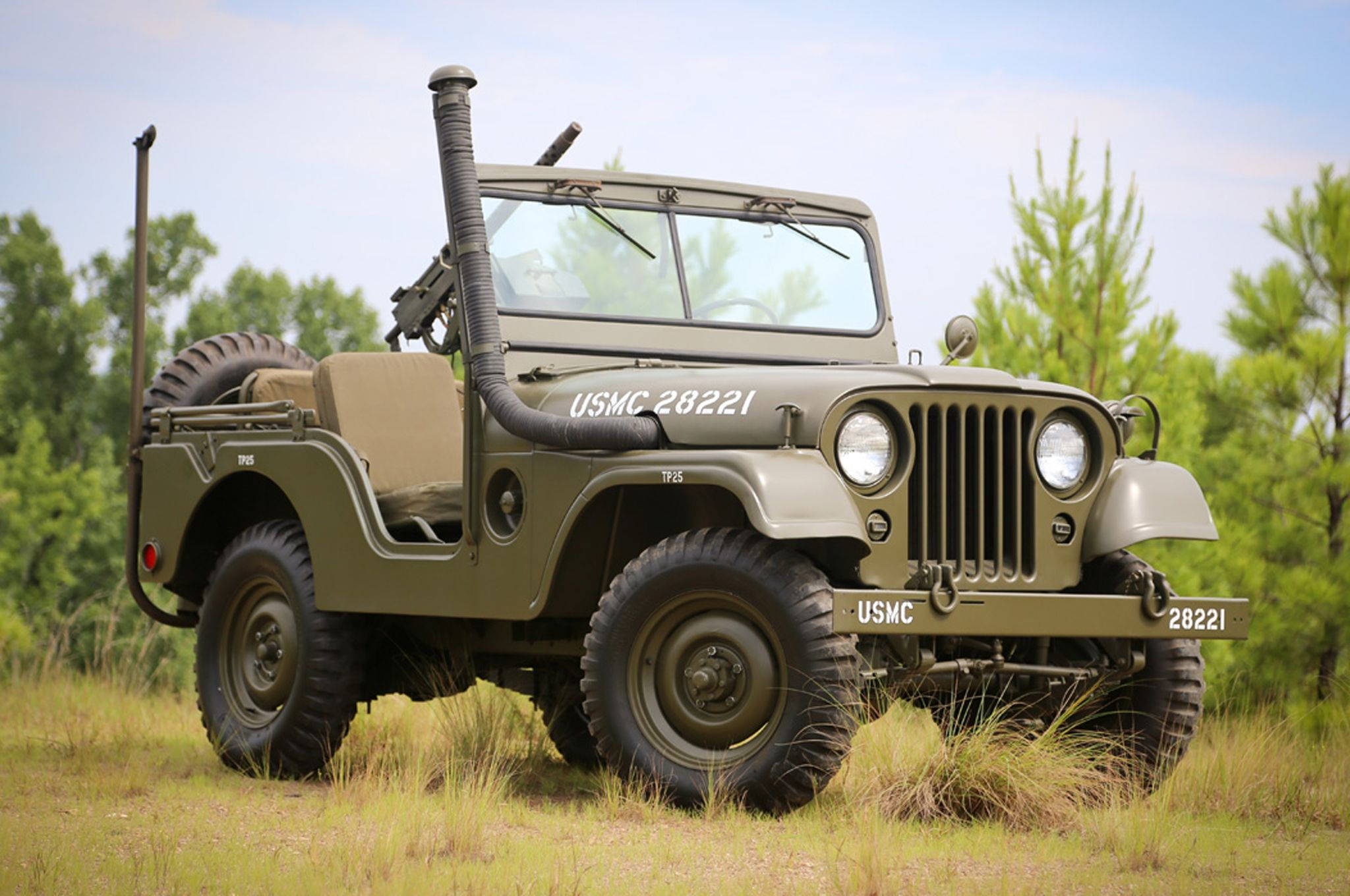 1952 Jeep Willys M38-A1 with snorkel kit.