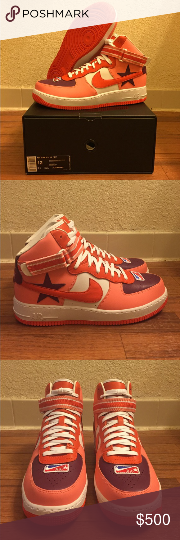 huge inventory biggest discount thoughts on Nike Air Force 1 High X RT Riccardo Tisci Icarus Item Details ...