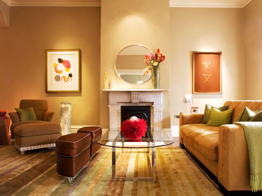 A Few Different Living Room Color Schemes Warm Amp Elegant