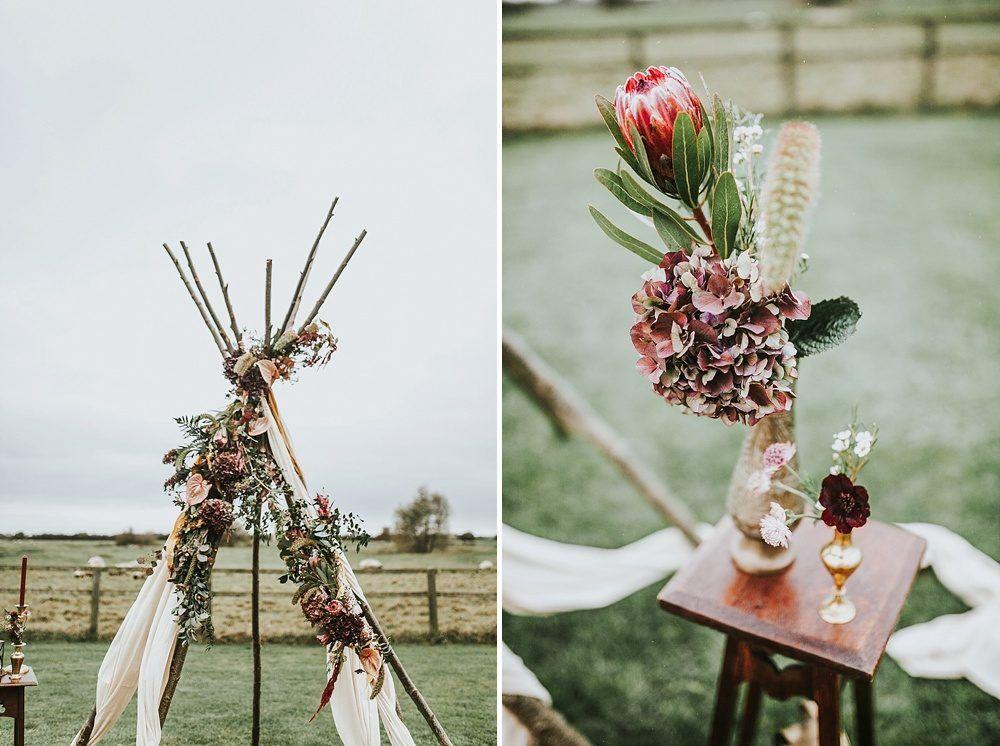 Wild Bohemia - Wedding | Tipi wedding inspiration, Bohemia