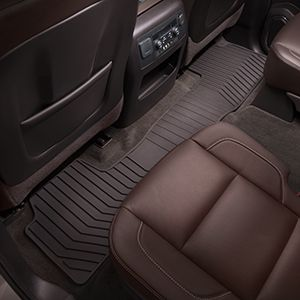 Yukon Floor Mats Premium All Weather Rear Cocoa These Premium