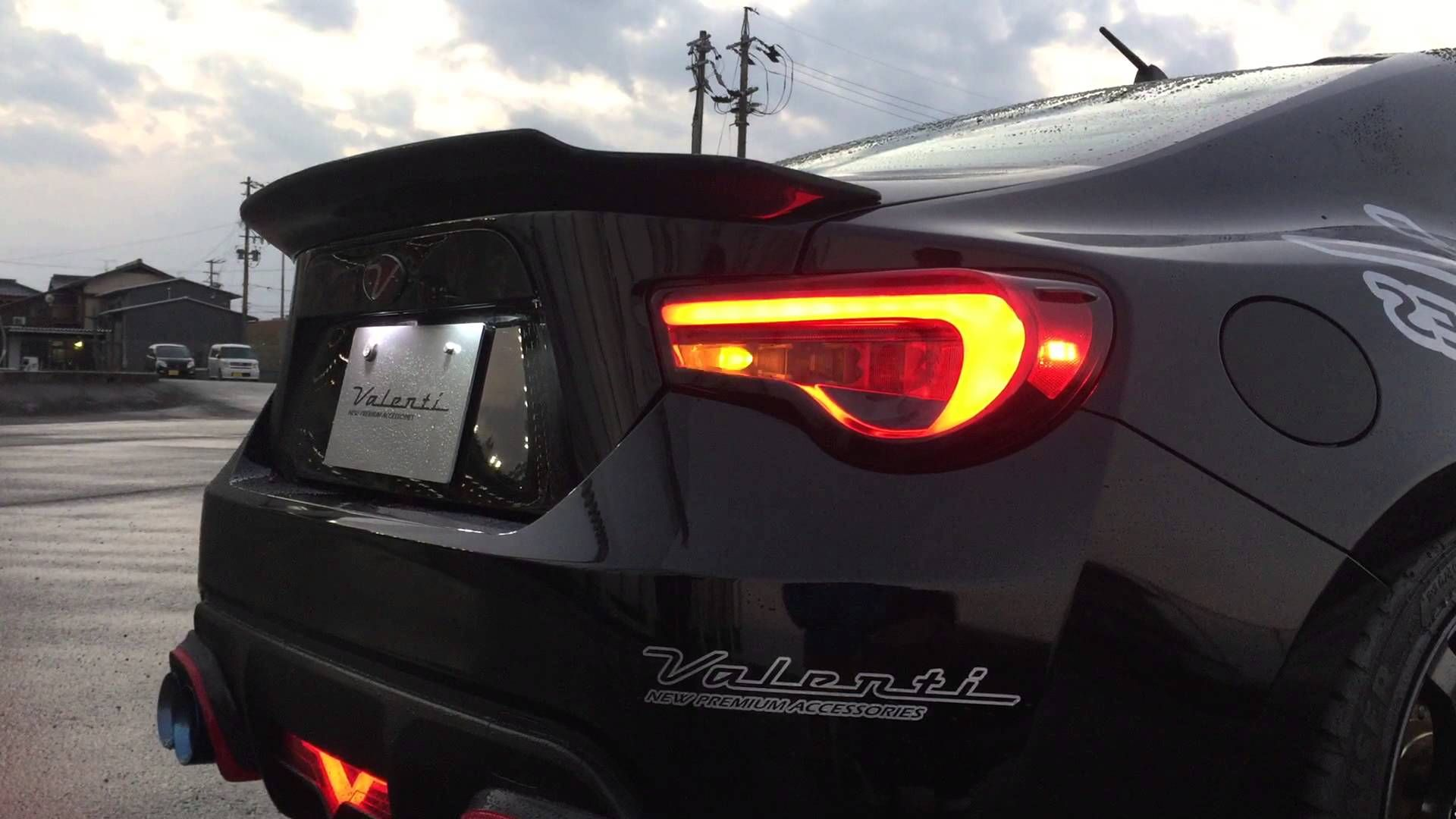 Valenti Jewel Led Tail Lamp Revo For86 Brz Frs Vehicles Tail Light