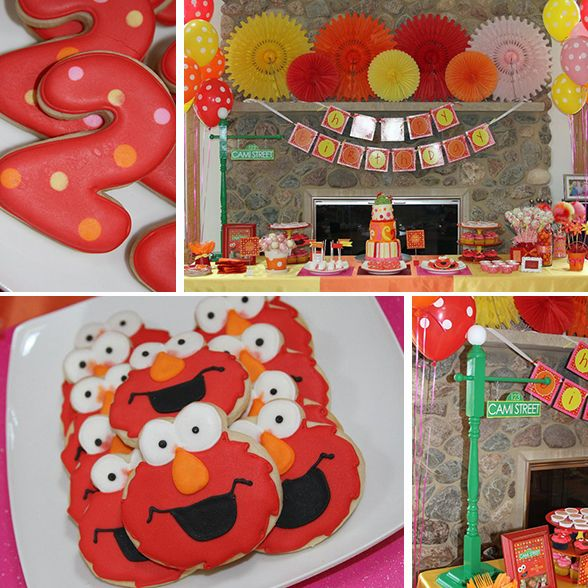 Elmo birthday party Elmo Themed 2nd Birthday Party and Event