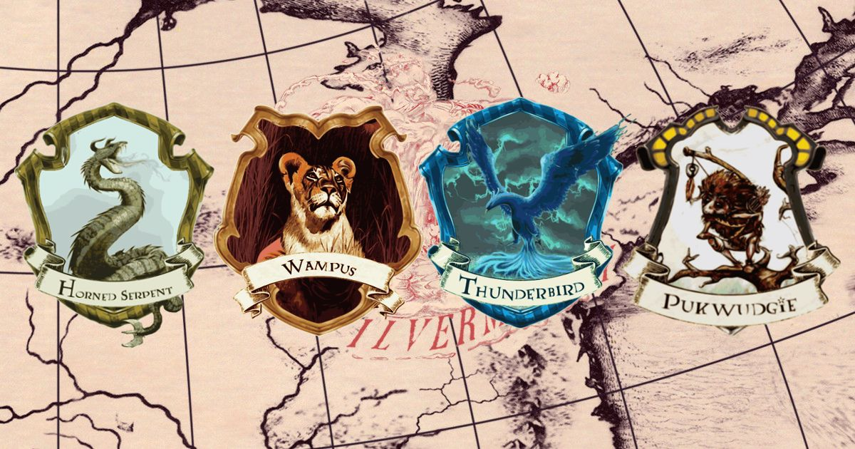 Ilvermorny Houses American Wizarding School Harry Potter Universal Harry Potter Fantastic Beasts