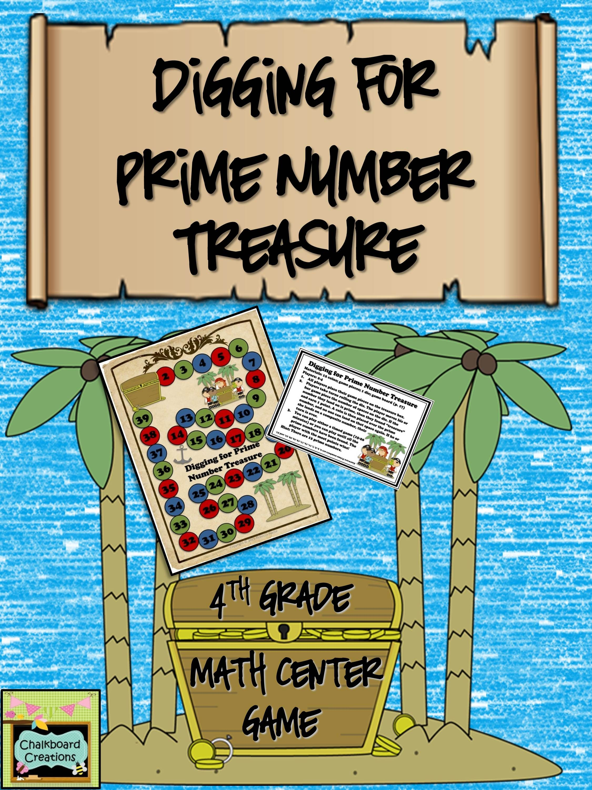 FREE pirate themed math center game! Focuses on students identifying ...