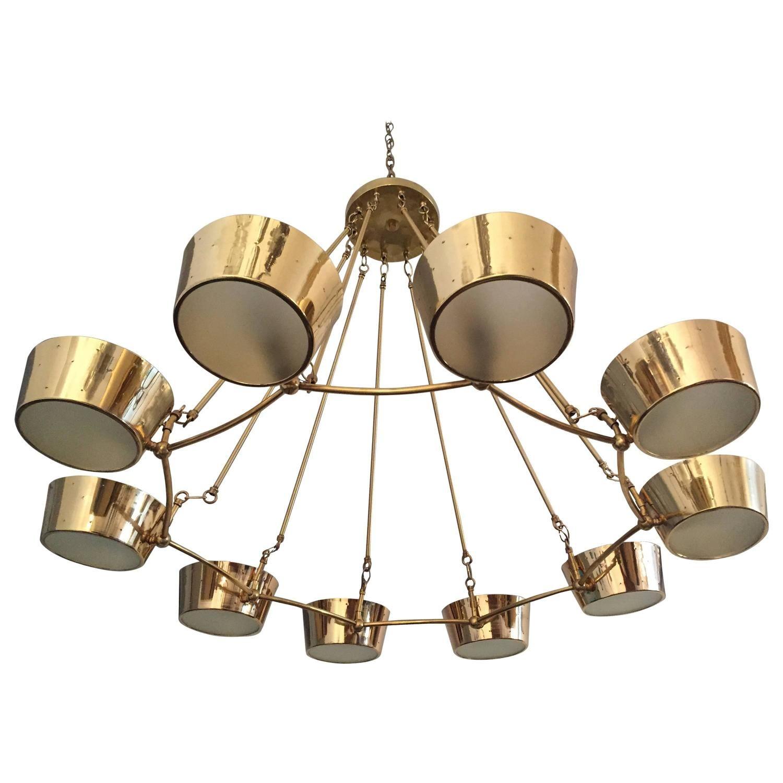 Vintage Lighting 1950s chandelier by Globe Mid Century FABULOUS!
