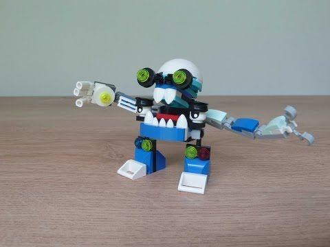 Lego Mixels Aquad Slusho Mix Or Murp Instructions Lego 41564 Lego