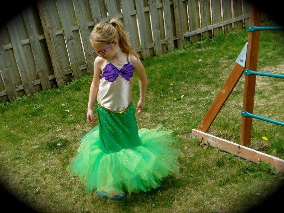 The Little Mermaid Tutu Dress. via Etsy.