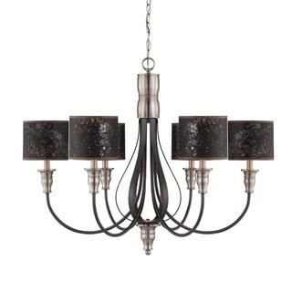 Check Out The Jeremiah Lighting 28126 Hibnk Preston Hollow 6 Light Chandelier In Hammered Iron