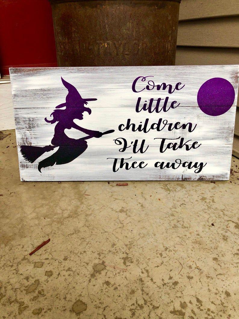 Hocus Pocus movie sign, Halloween sign, witch sign