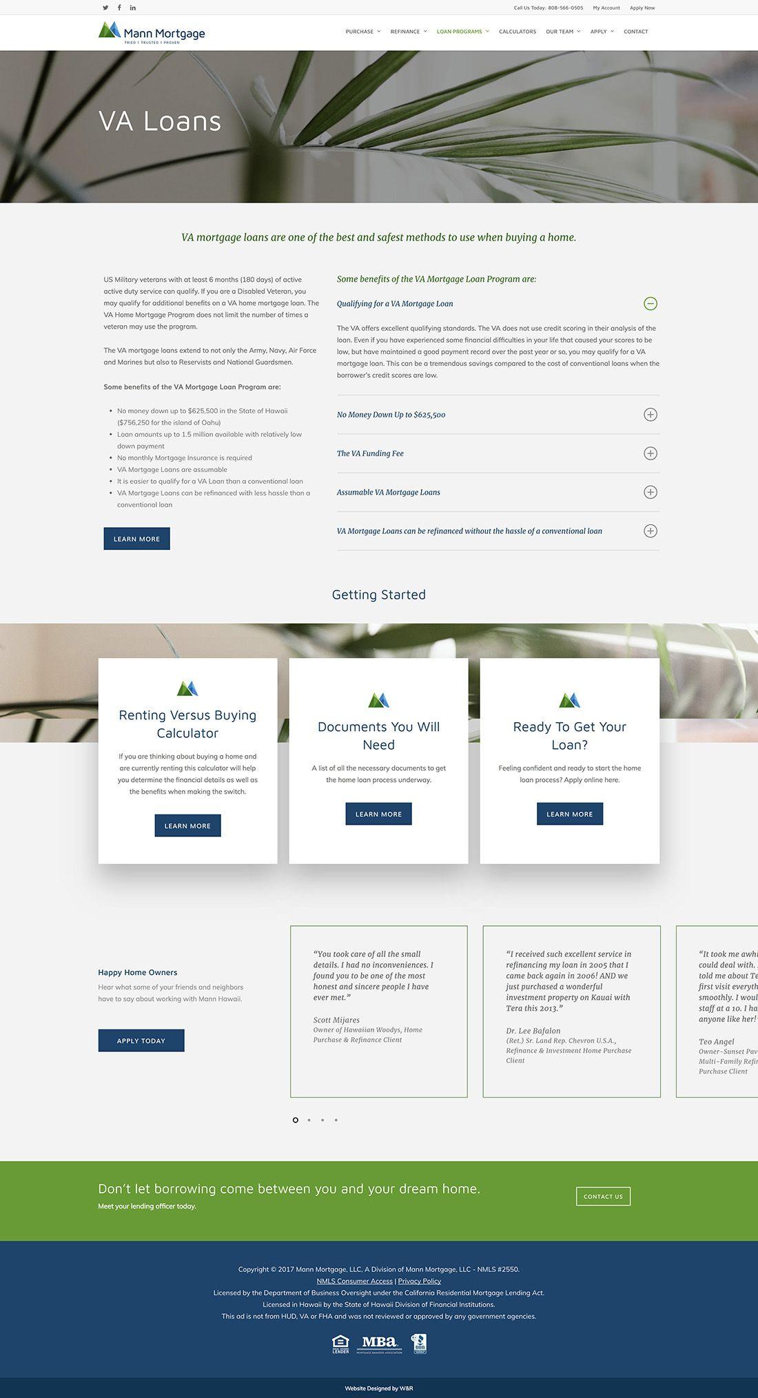 Cardinal Hawaii Branding Website Design Website Design Wordpress Website Design