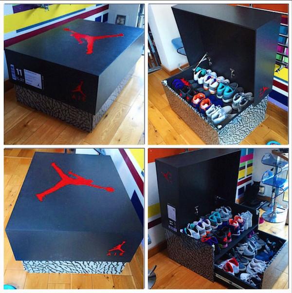 BRICO : Des boîtes à chaussures géantes canons !!! - Paperblog. Chaussures  Jordan RétroChaussure ...
