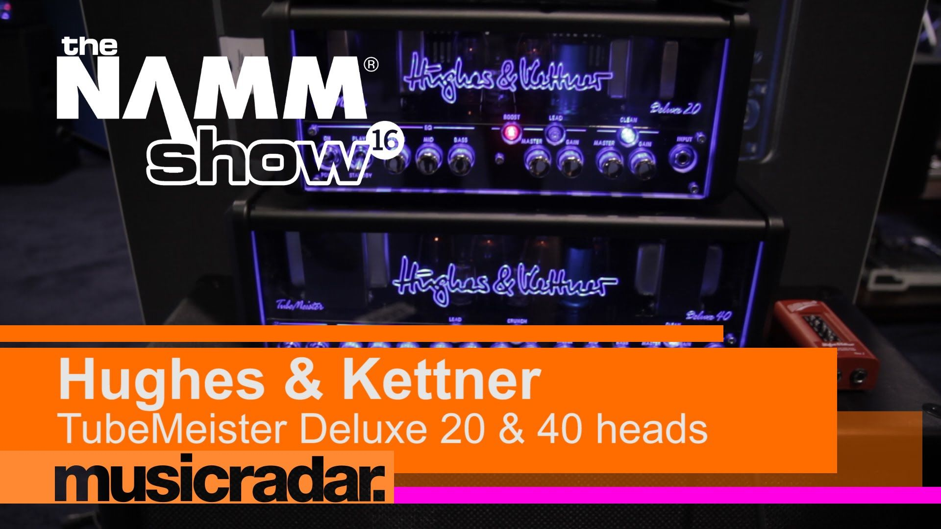 Namm 2016 Hughes Kettner Tubemeister Deluxe 20 40 Hughes Rock And Roll 40th
