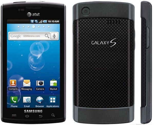 New Samsung Galaxy S Captivate SGH-i897 At Android Smartphone GPS