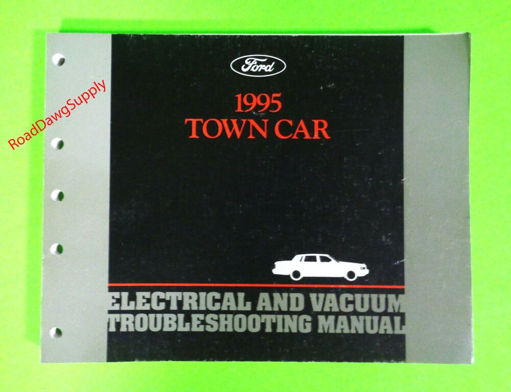 Advertisement Ebay  1995 Lincoln Town Car Electrical Wiring Diagrams Service Shop Repair Manual