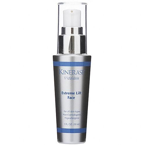 Kinerase Extreme Lift Face $135 Smoothes fine lines and wrinkles as it lifts and tightens skin for more defined facial contours #Kinerase #SkinCare www.entirelyskin.com