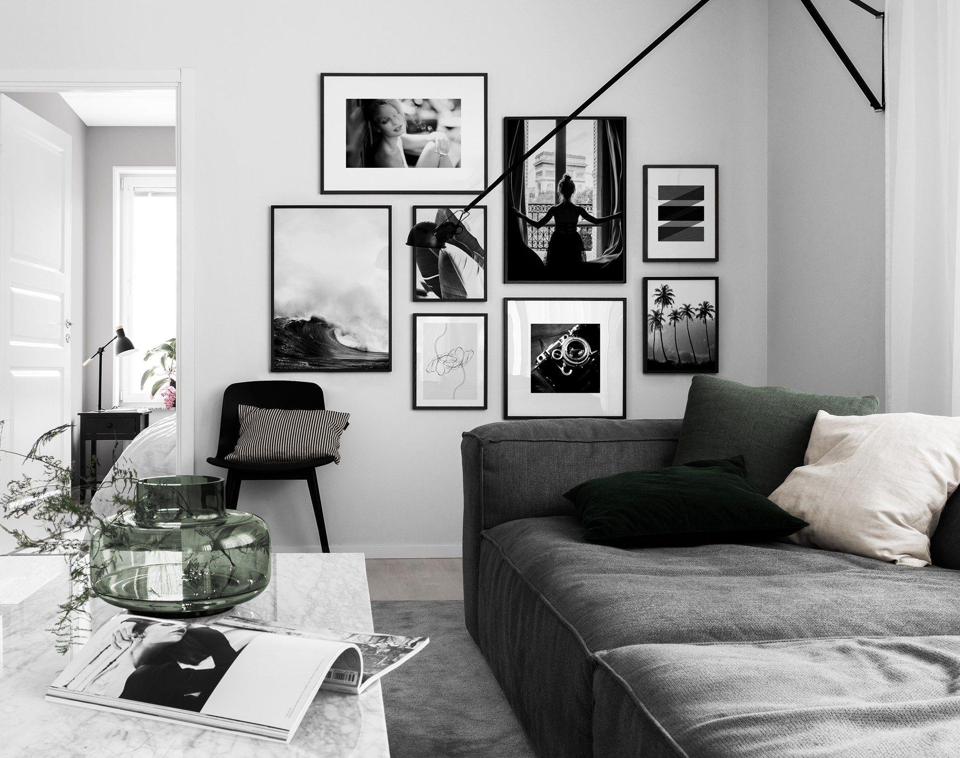 Home design bilder karte inspiraatiota tauluseiniin ja taulusommitelmiin  colorized art in