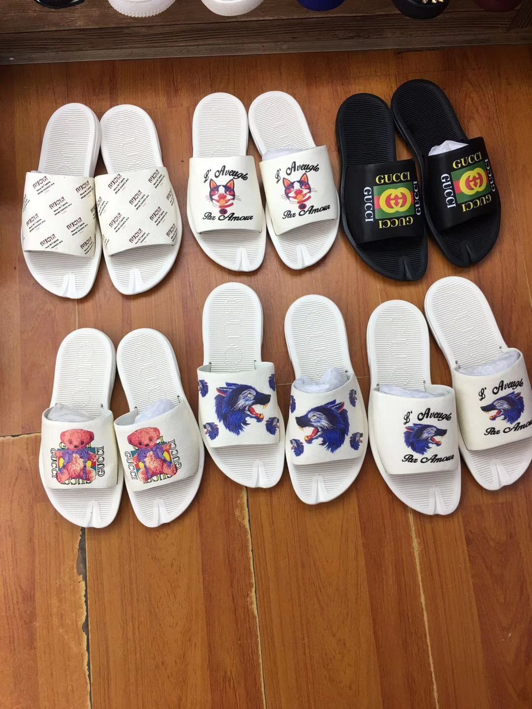 1f06acb99108 Gucci 2018 New Flip Flop 38-44  53-11736096 Whatsapp 86 17097508495