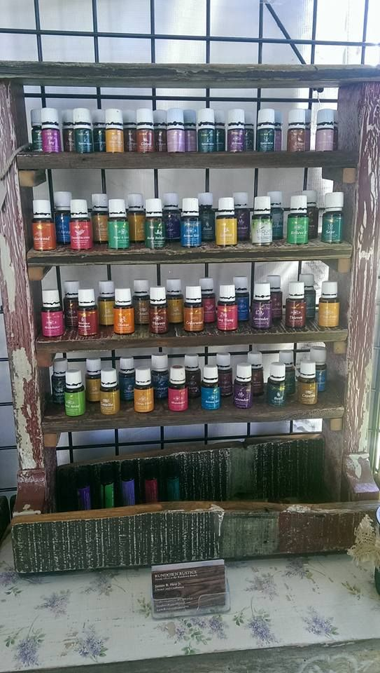 """This beautiful Oil Rack is made of reclaimed wood. It measures 22"""" W x 26"""" H x…"""