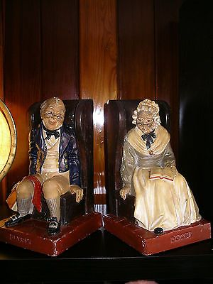 #Antique #darbby&joan bookends #g.l.london limited #97,  View more on the LINK: http://www.zeppy.io/product/gb/2/262561558391/