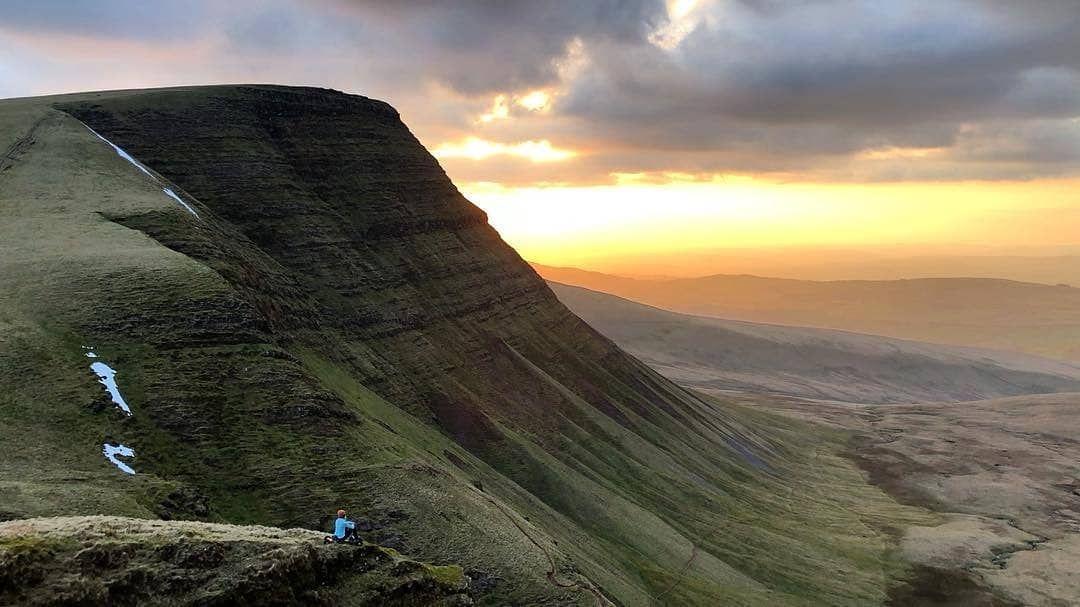 "Visit Wales on Instagram ""Picws Du sunset captured by"