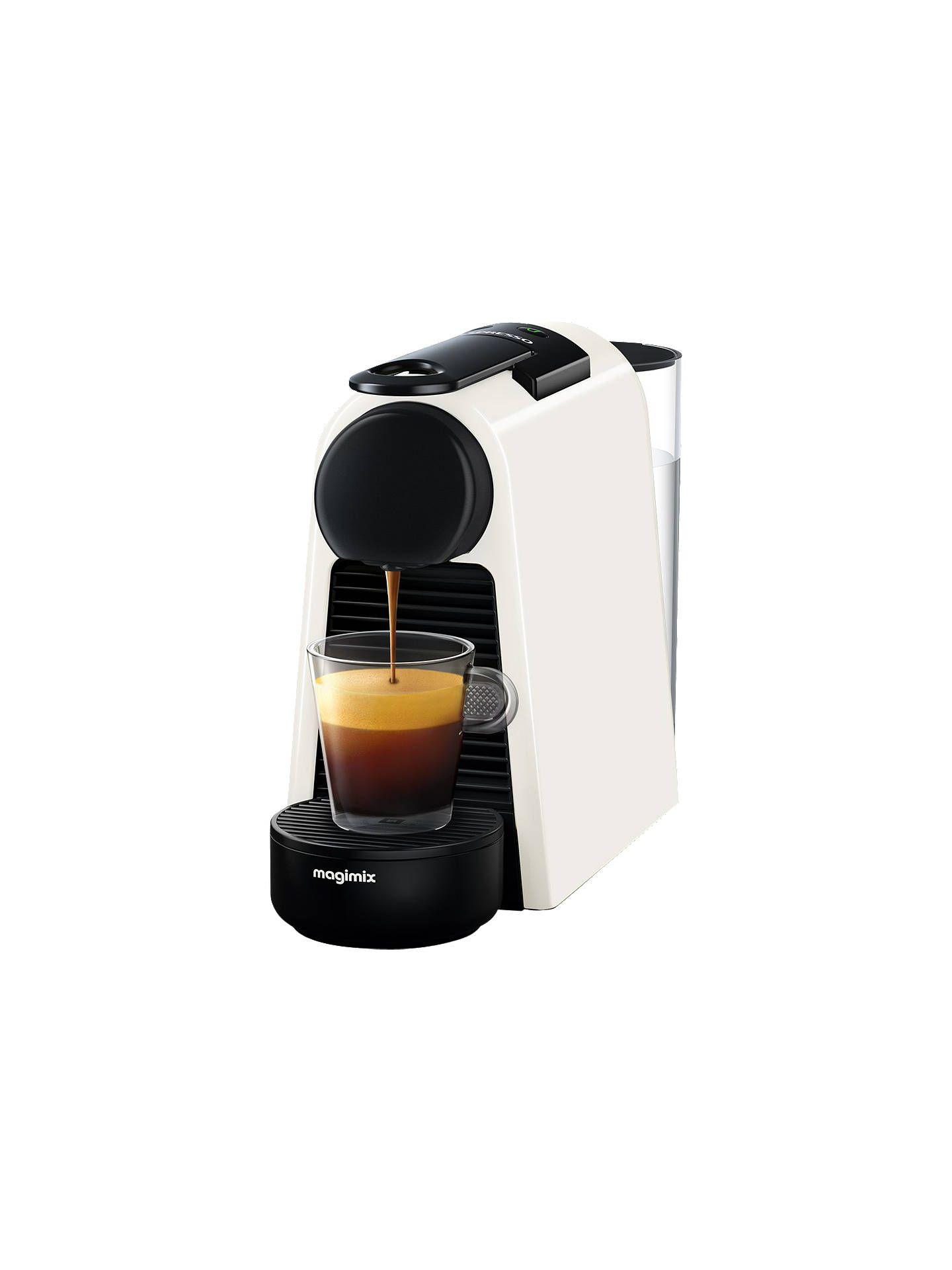 Nespresso Essenza Mini Coffee Machine By Magimix Red