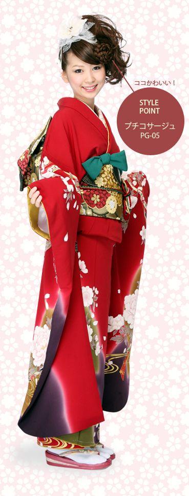 成人式スタイル♪大人系キュート!フェミニンサイドアップスタイル 【大阪・心斎橋】allys hair shinsaibashi OPA stylist:宮澤 さつき