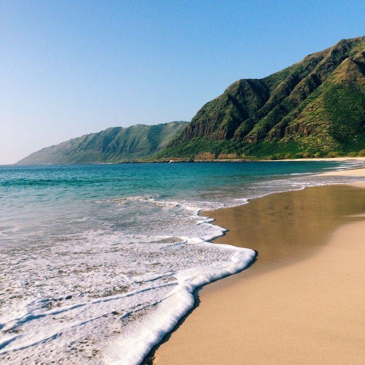 Makua Beach Waianae Oahu Hawaii