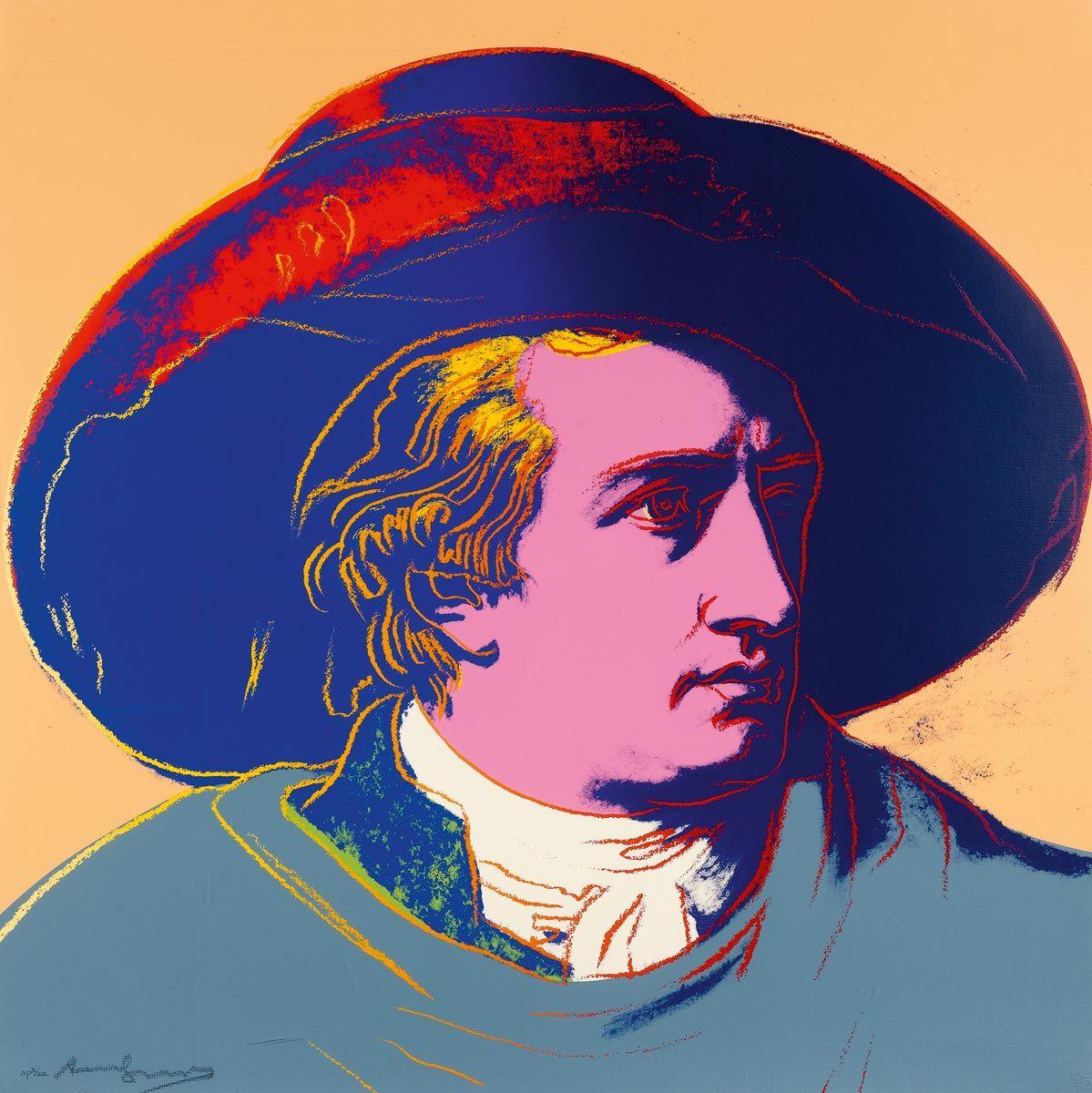 Andy Warhol, Goethe, 1982
