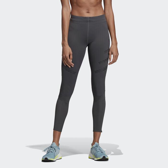 Details zu Adidas ClimaLite Damen Long Tights Response Laufhose Running Tight Jogginghose