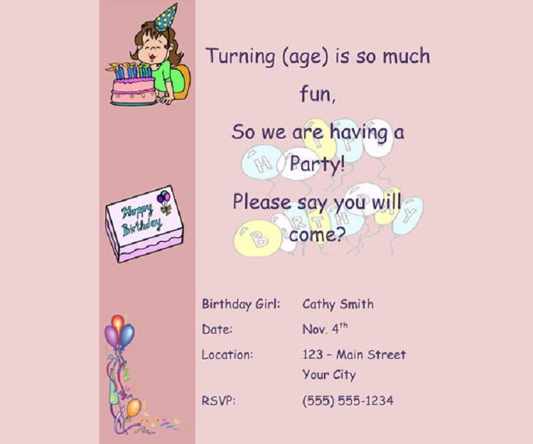 unique birthday invitation by email party ideas pinterest