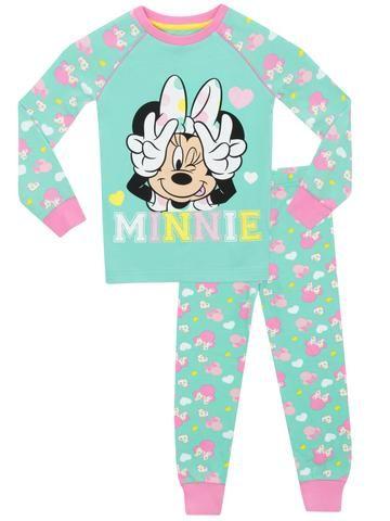 Disney Minnie Mouse PyjamasGirls Minnie Mouse PJsToddler Minnie Pyjama Set