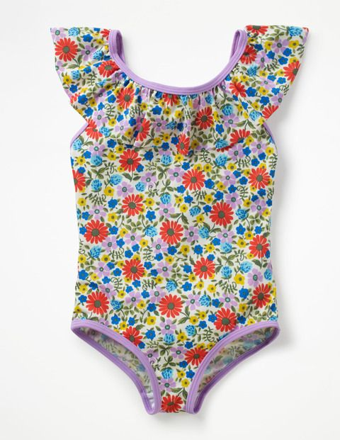 914ad039f4 Frilly Swimsuit G1061 Swimsuits at Boden