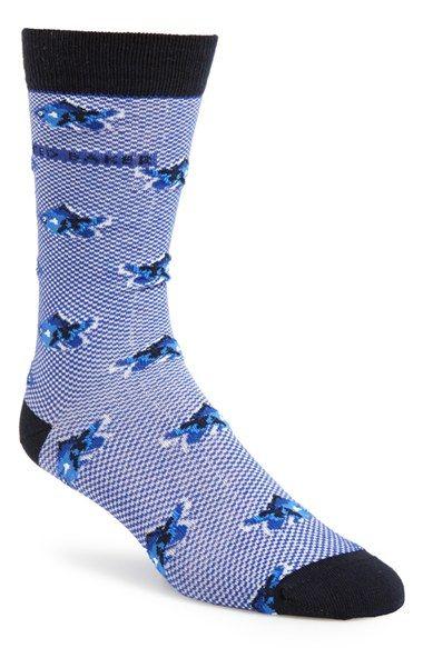 6c016b19576 Men s Ted Baker London Fish Pattern Socks - Blue