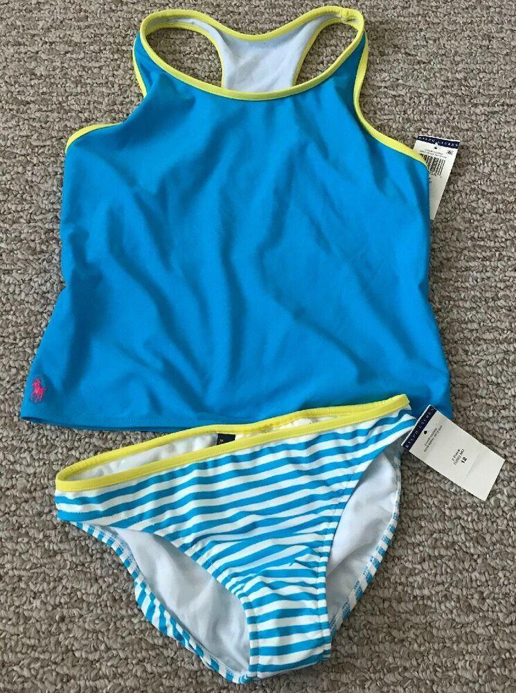 76805cc4f9b Cute Polo Ralph Lauren 2pcs Girls Bathing Suit Swimwear Sz 12 NWT Clothes  #fashion #clothing #shoes #accessories #kidsclothingshoesaccs ...