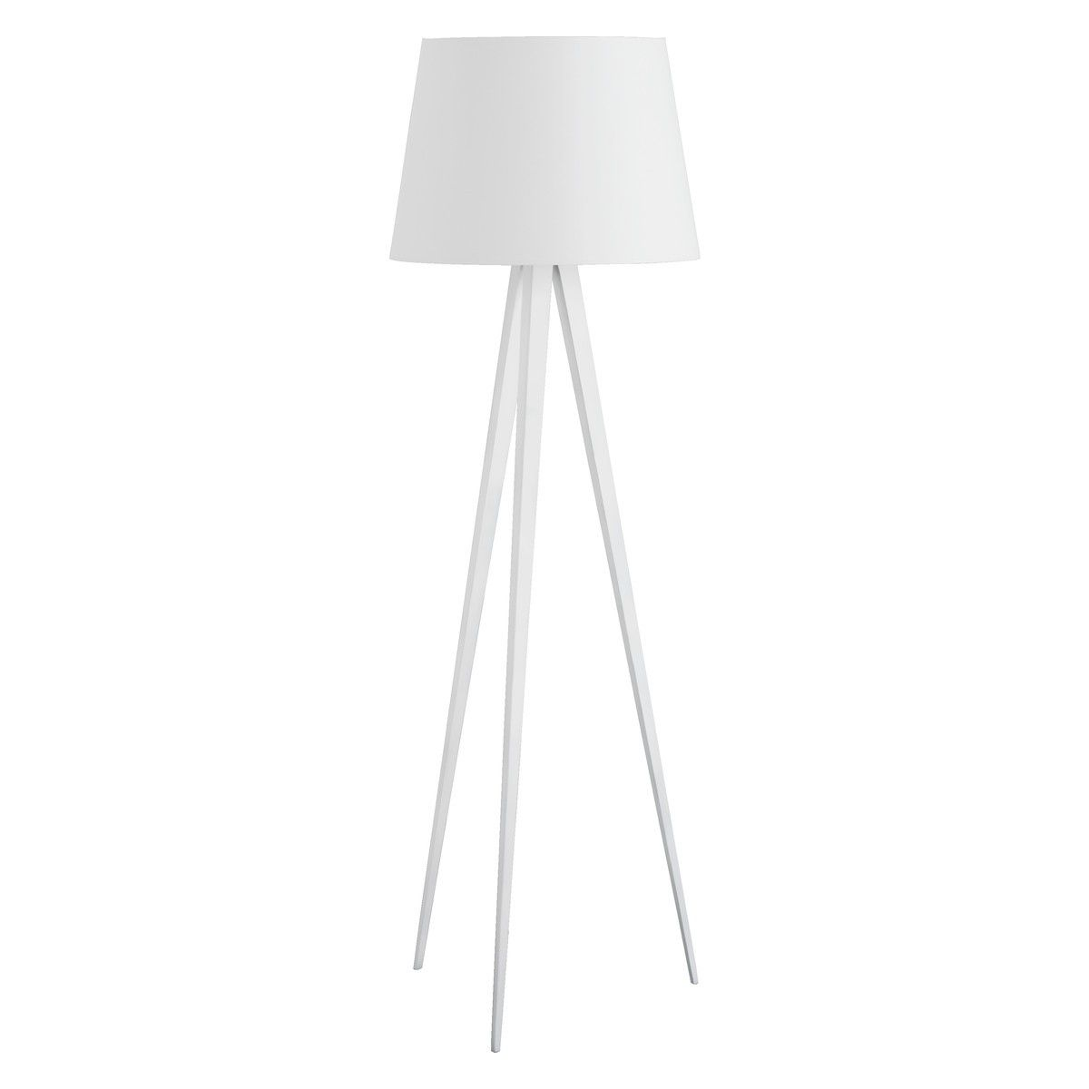 Yves white metal tripod floor lamp base studio style pinterest yves white metal tripod floor lamp base aloadofball Choice Image