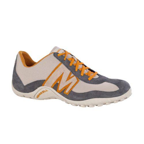 c20d5044681 Merrell-Sprint-Blast-Mesh-Suede-Mens-Trainer-Shoes-Grey-Inca-Gold ...
