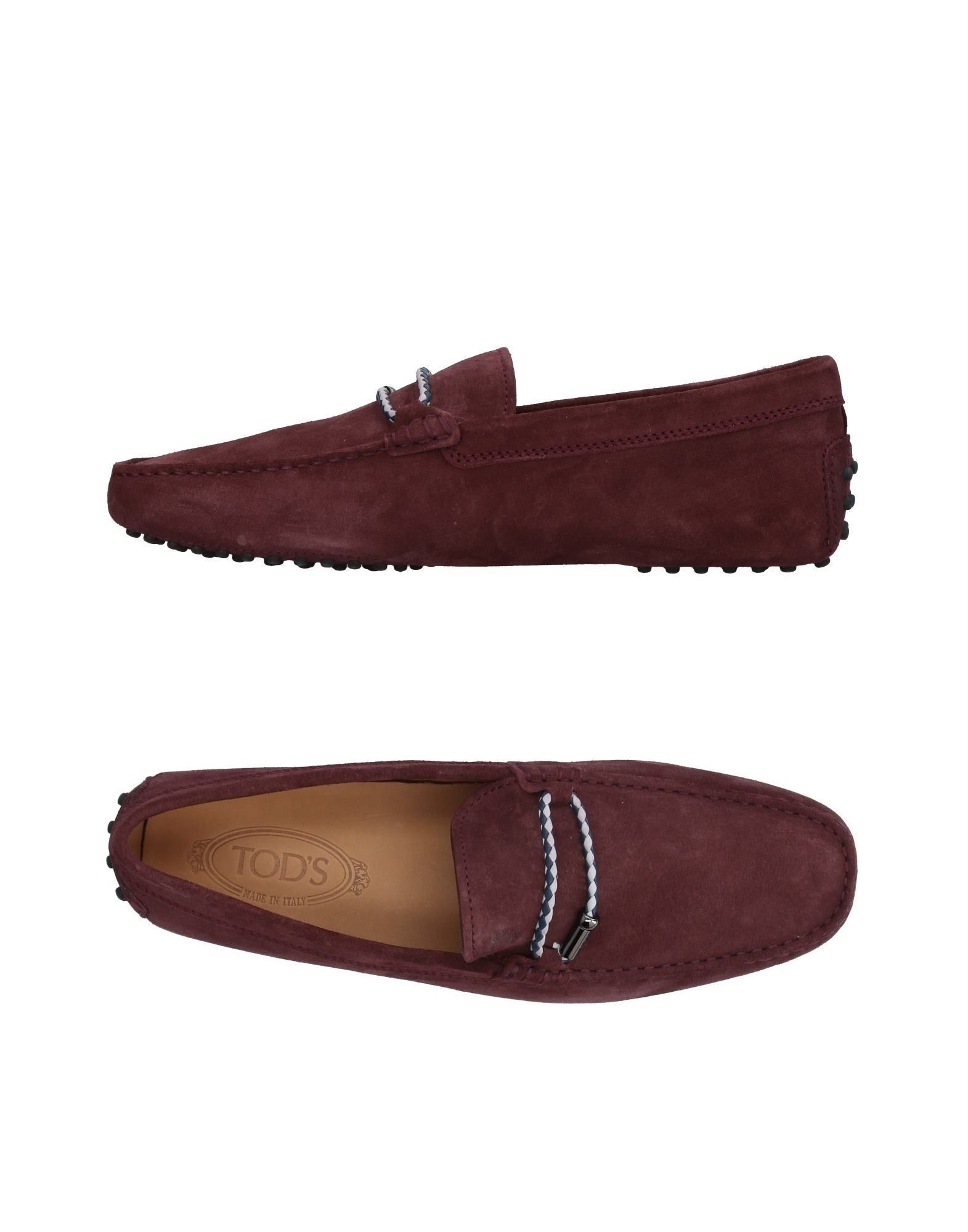 TOD'S Loafers Deep purple Men