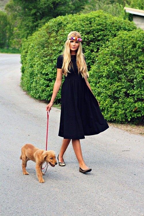 Un lindo vestido para sacar a pasear a tu perro