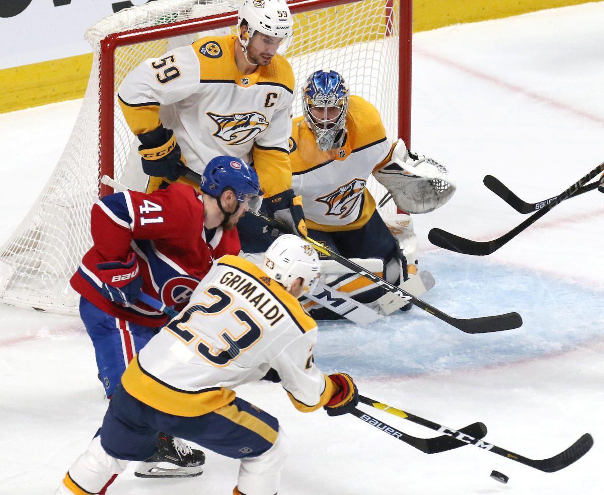 Nashville Predators defeat the Montreal Canadiens 41