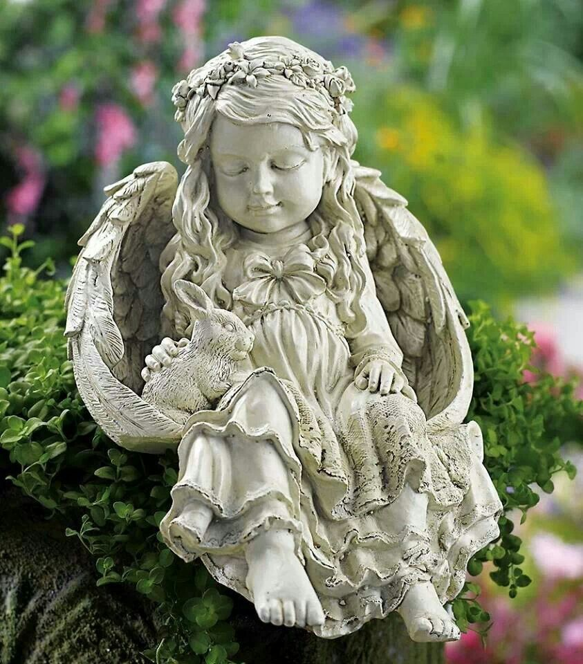 sale large statues angel angels statuary wintersun for garden the club