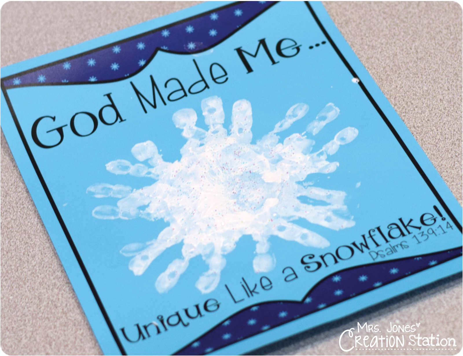 god made me unique like a snowflake unique sunday and bible