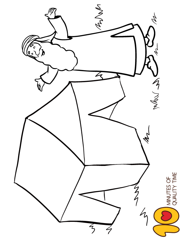 Abraham Bible Coloring Pages Bible Coloring Pages Abraham And Sarah Coloring Pages