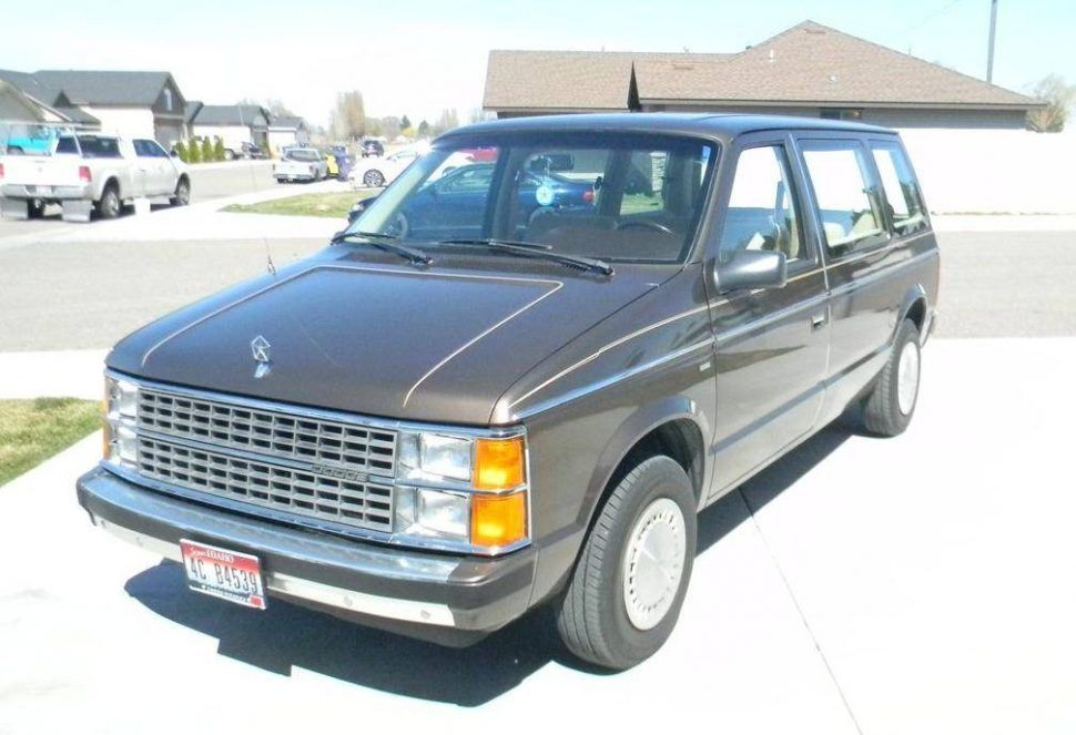 Hemmings Find Of The Day 1984 Dodge Caravan 1st Generation