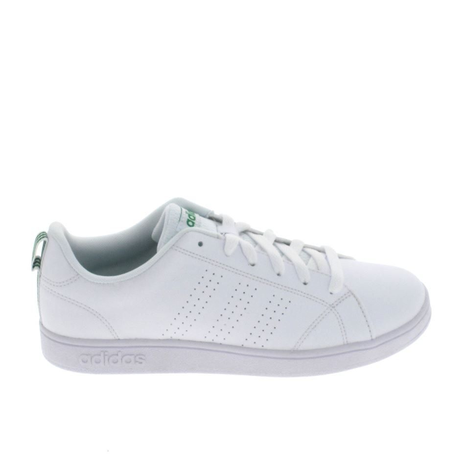 reputable site 4052e 3d0aa ADIDAS Advantage Clean Jr Blanc Vert