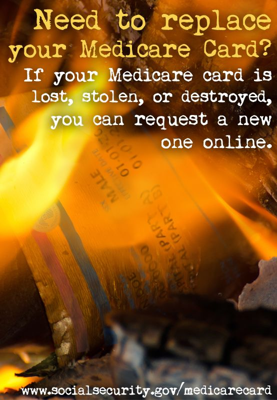 If Your Medicare Card Is Lost Stolen Or Destroyed You Can