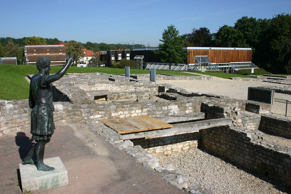 Archaologischer Park Limesmuseum Aalen Romisches Reich
